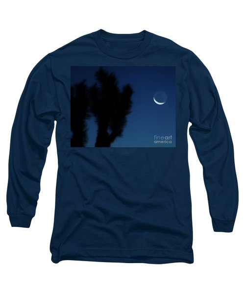 Long Sleeve T-Shirt featuring the photograph Blue by Angela J Wright