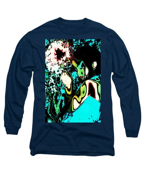 Long Sleeve T-Shirt featuring the photograph Blue Beauty by Jessica Shelton