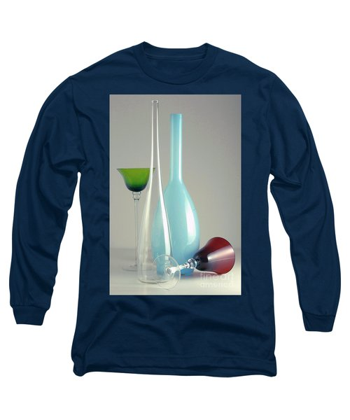 Long Sleeve T-Shirt featuring the photograph Blue Bottle #2 by Elf Evans