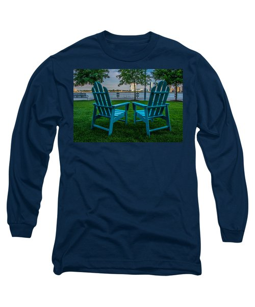 Blue Chairs Long Sleeve T-Shirt