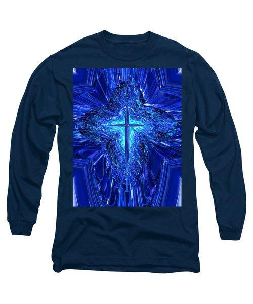 Blue Cross Long Sleeve T-Shirt