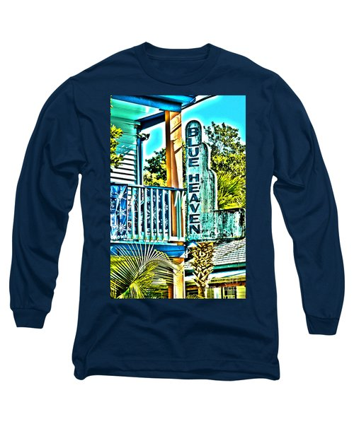 Blue Heaven In Key West - 1 Long Sleeve T-Shirt