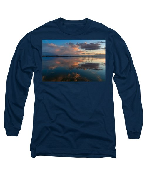 Blue Lagoon. Valencia Long Sleeve T-Shirt