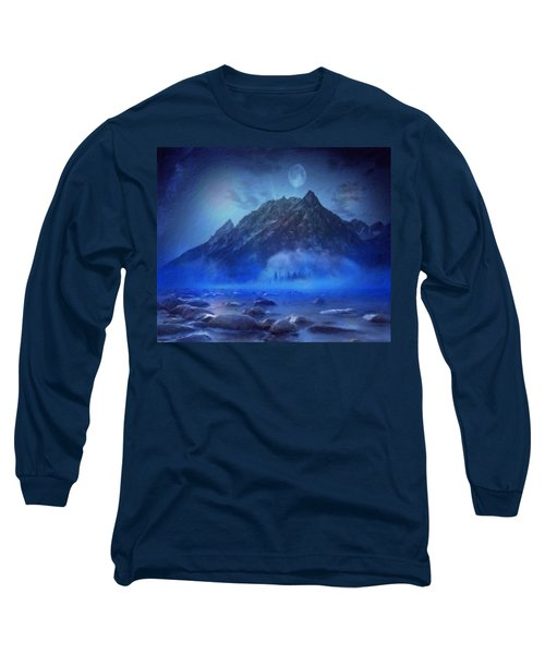 Blue Mist Rising Long Sleeve T-Shirt