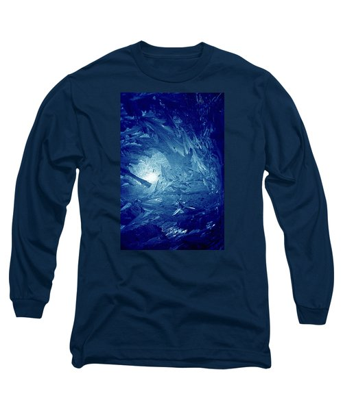 Blue Long Sleeve T-Shirt by Richard Thomas