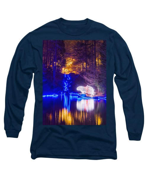 Blue River - Crop Long Sleeve T-Shirt