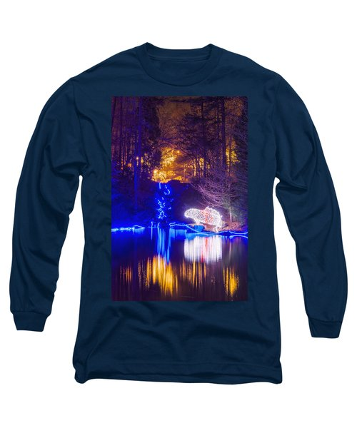 Blue River - Full Height Long Sleeve T-Shirt
