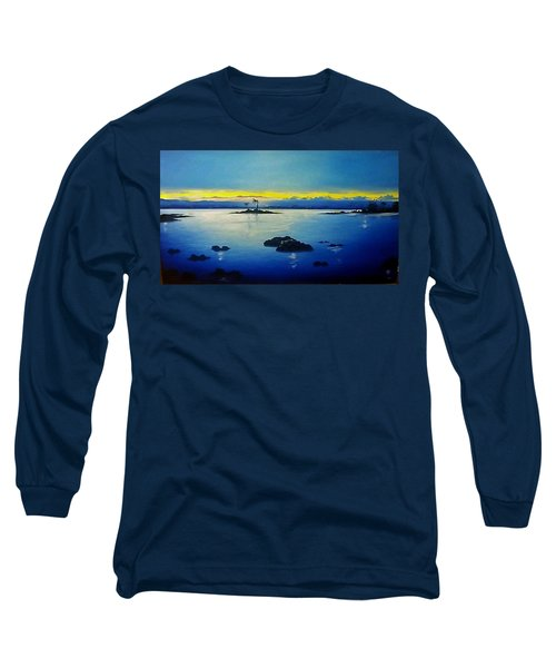 Blue Skies Long Sleeve T-Shirt by Kelly Turner