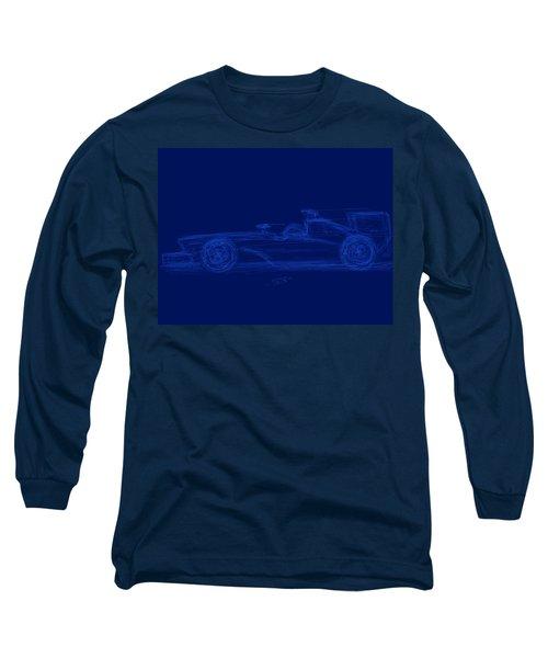 Blueprint For Speed Long Sleeve T-Shirt