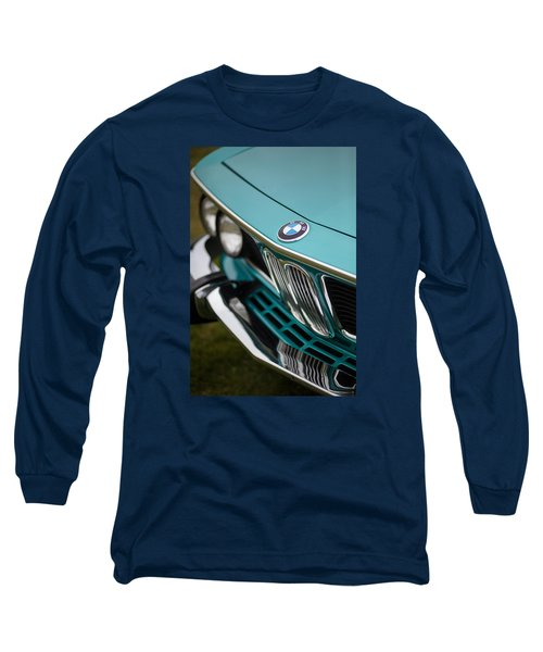 Bmw 3.0 Cs Front Long Sleeve T-Shirt by Mike Reid