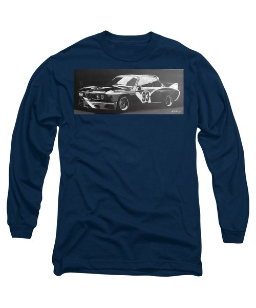 Bmw 3.0 Csl Alexander Calder Art Car Long Sleeve T-Shirt