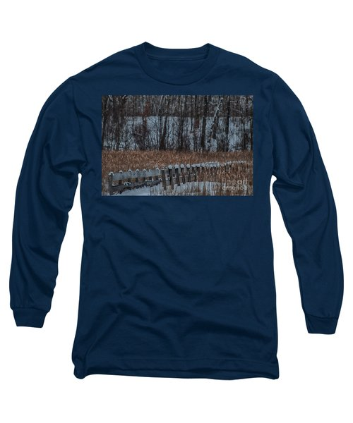 Long Sleeve T-Shirt featuring the photograph Boardwalk Series No2 by Bianca Nadeau