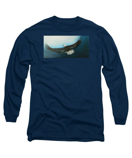 Bold And Beautiful Long Sleeve T-Shirt by Jane See