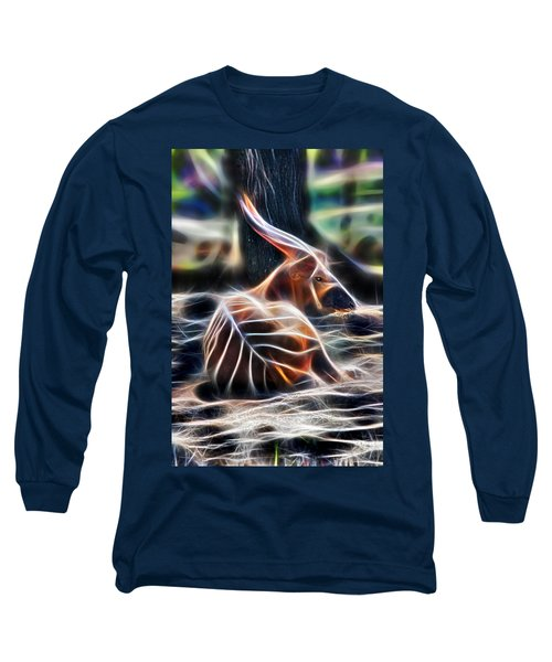 Bongo In Tune With The Energies Long Sleeve T-Shirt
