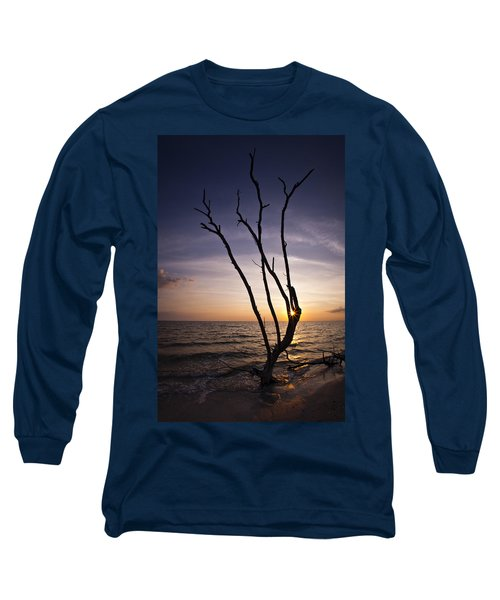 Bonita Beach Tree Long Sleeve T-Shirt by Bradley R Youngberg