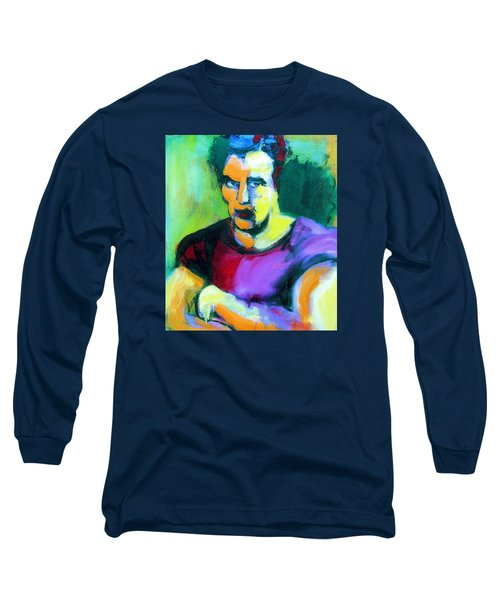 Brando Long Sleeve T-Shirt by Les Leffingwell