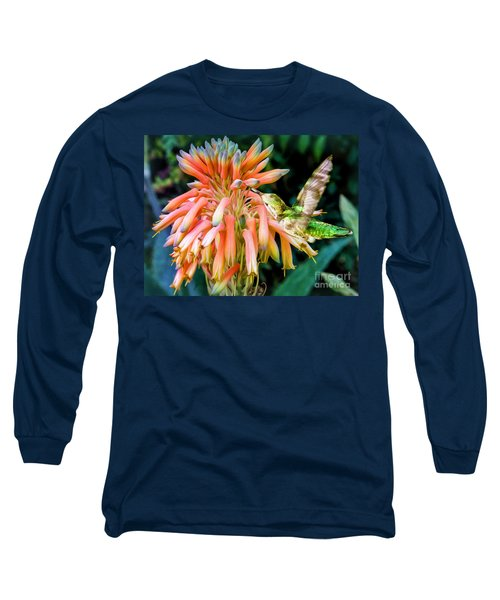 Breakfast For A Hummer Long Sleeve T-Shirt