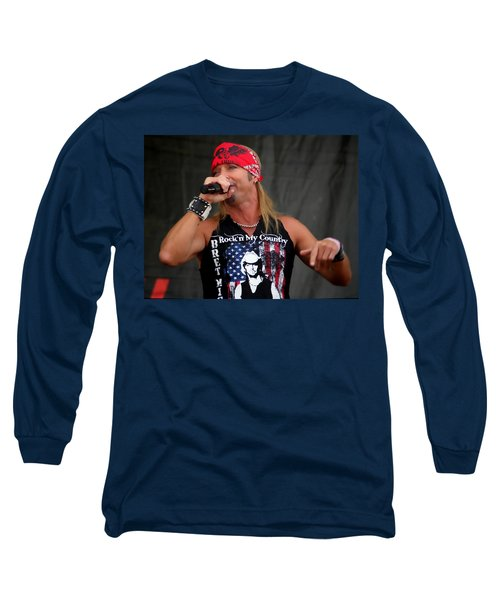 Bret Michaels In Philly Long Sleeve T-Shirt