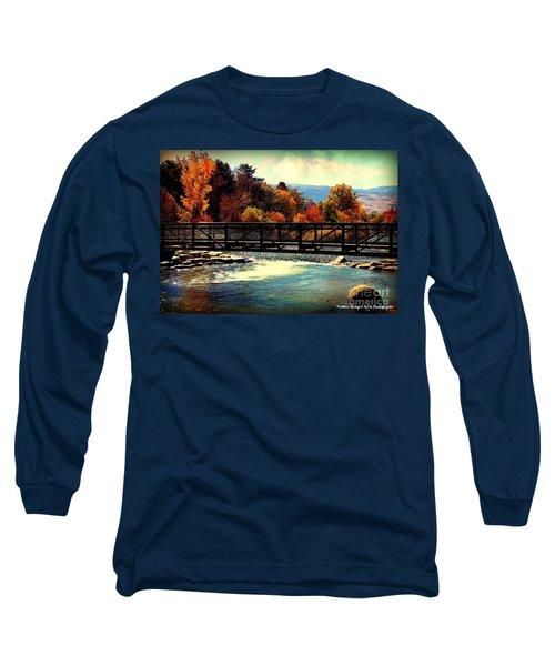 Bridge Over The Truckee River Long Sleeve T-Shirt