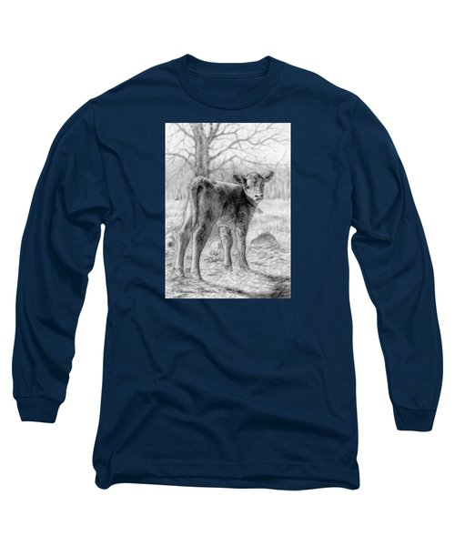 Bright Eyed And Bushy Tailed Long Sleeve T-Shirt