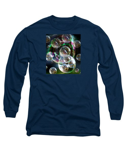 Bubbles And More Bubbles Long Sleeve T-Shirt