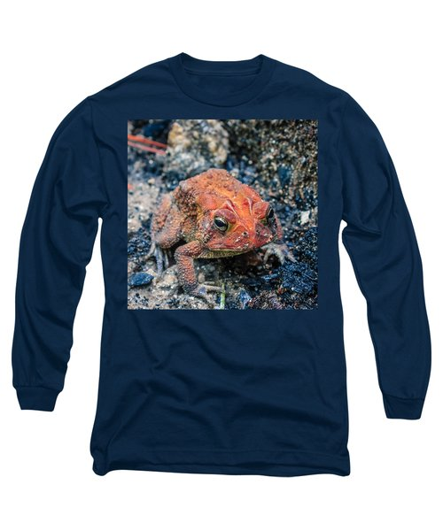Long Sleeve T-Shirt featuring the photograph Bufo Terrestris by Rob Sellers