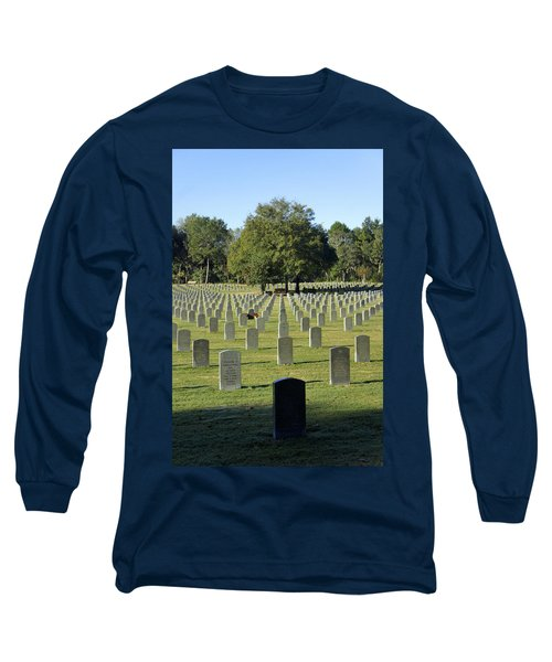 Bushnell National Cemetary Long Sleeve T-Shirt