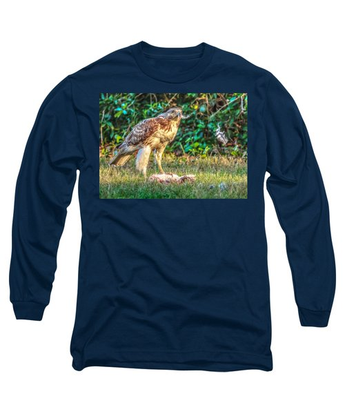 Long Sleeve T-Shirt featuring the photograph Buteo Jamaicensis by Rob Sellers