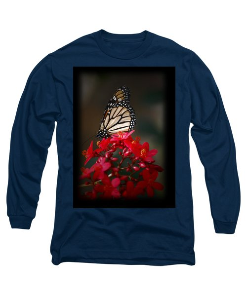 Long Sleeve T-Shirt featuring the photograph Butterfly 6 by Leticia Latocki