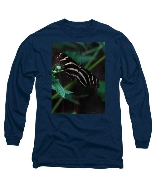 Butterfly Art 2 Long Sleeve T-Shirt by Greg Patzer