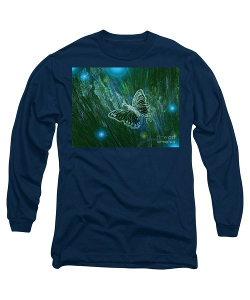 Butterfly Magic By Jrr Long Sleeve T-Shirt
