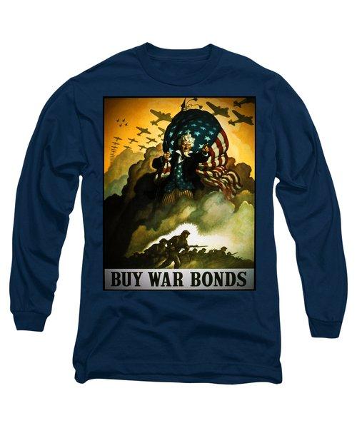 Buy War Bonds Long Sleeve T-Shirt
