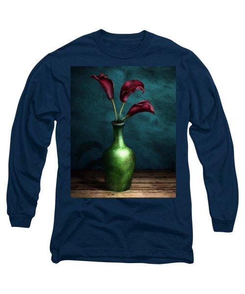 Calla Lilies I Long Sleeve T-Shirt