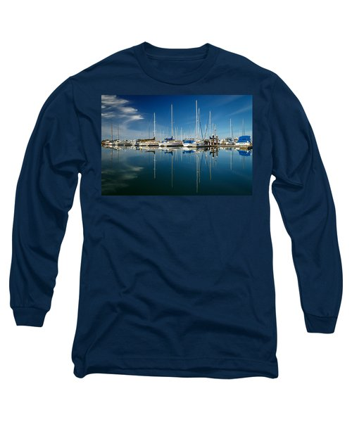 Calm Masts Long Sleeve T-Shirt