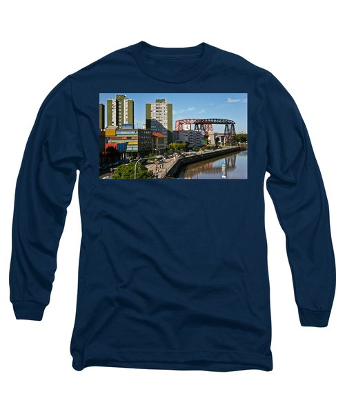 Long Sleeve T-Shirt featuring the photograph Caminito by Silvia Bruno