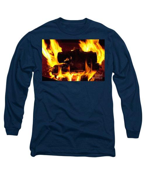 Campfire Burning Long Sleeve T-Shirt