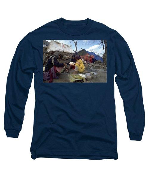 Camping In Iraq Long Sleeve T-Shirt