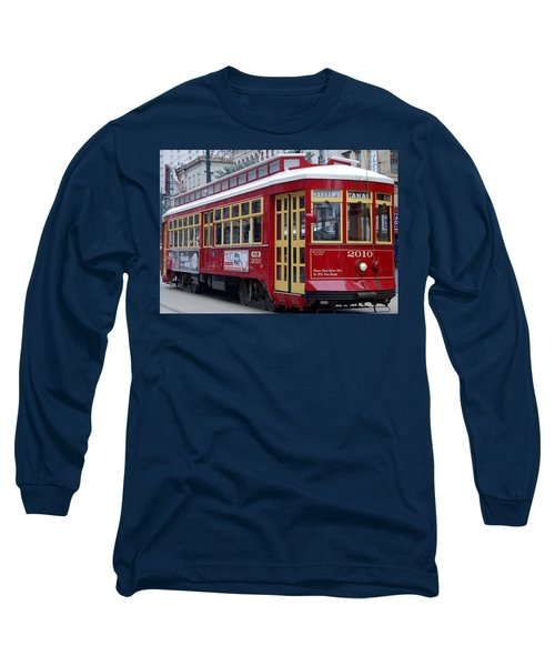 Canal Streetcar Nola Long Sleeve T-Shirt