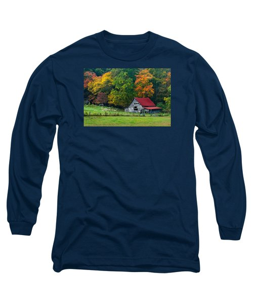 Candy Mountain Long Sleeve T-Shirt by Debra and Dave Vanderlaan