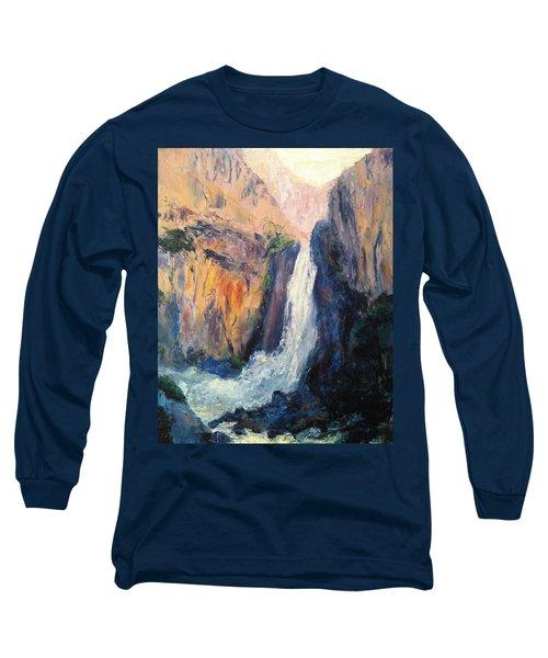 Canyon Blues Long Sleeve T-Shirt by Gail Kirtz