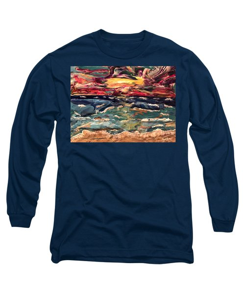 Capricious Sea Long Sleeve T-Shirt