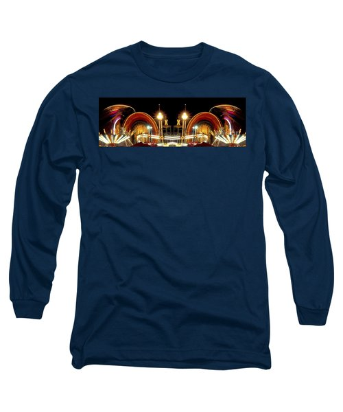 Carnival Light Patterns At Night Long Sleeve T-Shirt