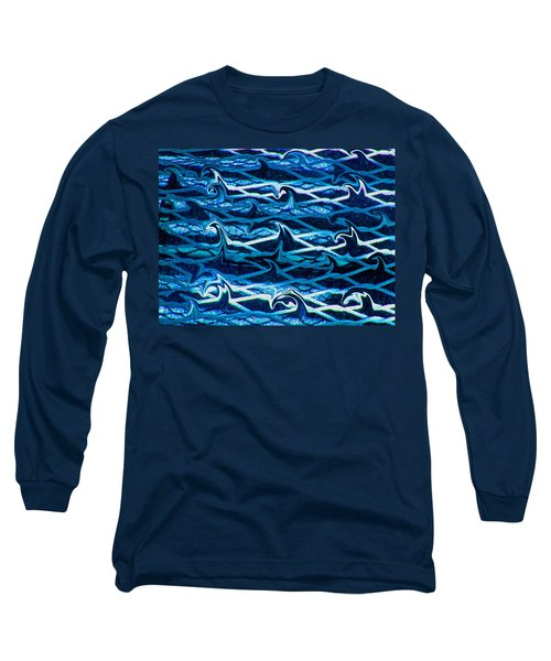 Long Sleeve T-Shirt featuring the photograph Cast Your Net Upon The Waters by Stephanie Grant