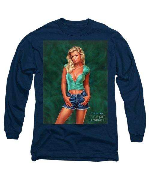 Casual Beauty Long Sleeve T-Shirt