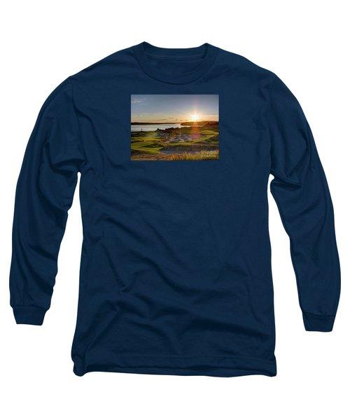 Chambers Bay Sun Flare - 2015 U.s. Open  Long Sleeve T-Shirt