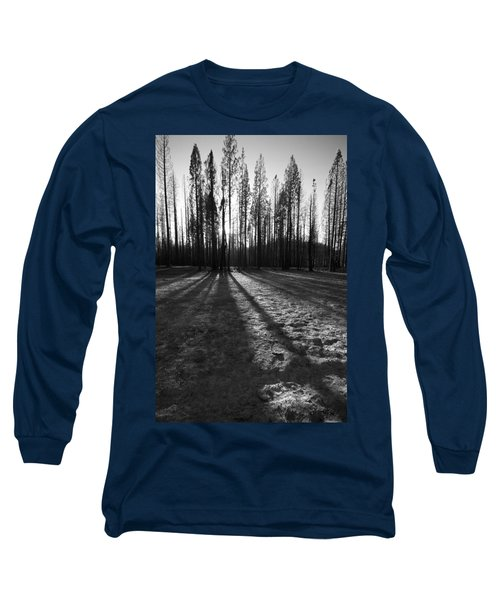 Charred Silence - Yosemite Rm Fire 2013 Long Sleeve T-Shirt