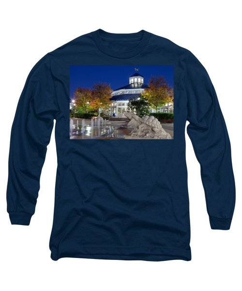 Chattanooga Park At Night Long Sleeve T-Shirt