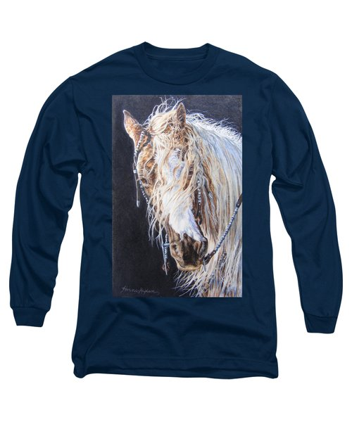 Cherokee Rose Gypsy Horse Long Sleeve T-Shirt