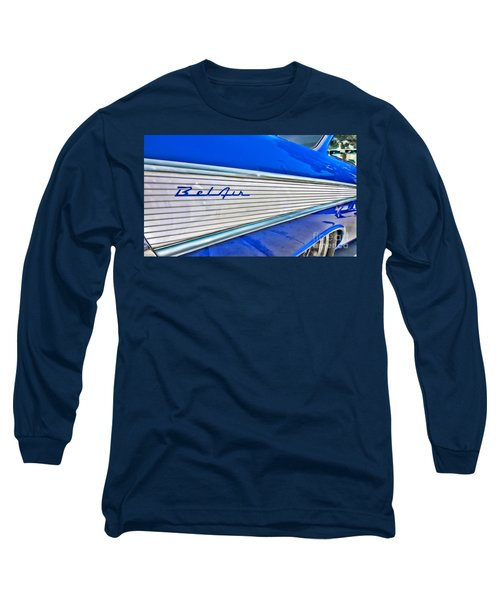 Long Sleeve T-Shirt featuring the photograph Chevy Bel Air by Jason Abando