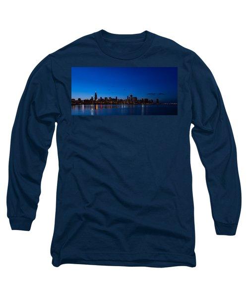 Chicago Night Long Sleeve T-Shirt